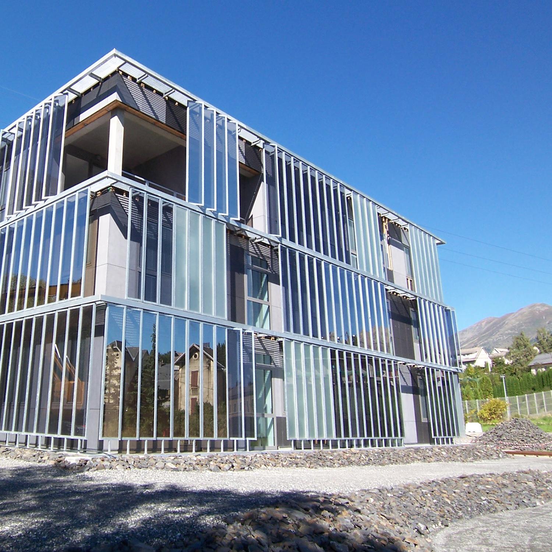 épure /// architecture & patrimoine | construction de la maison du conseil général de l'Isère, La Mûre en Isère