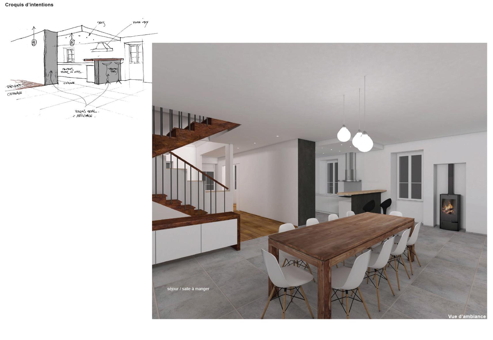 am nagement maison ancienne fu62 jornalagora. Black Bedroom Furniture Sets. Home Design Ideas