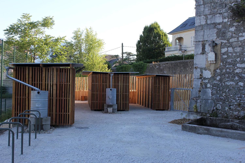 épure /// architecture & patrimoine | aménagement des jardins familiaux de Lémenc, Chambéry